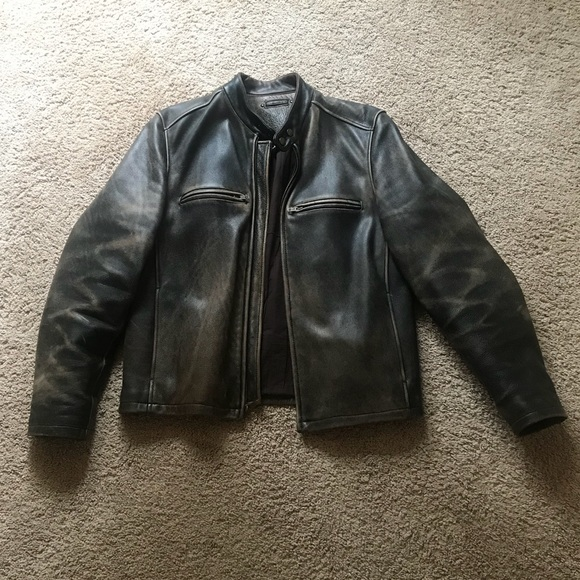 Wilsons Leather Jackets Coats Vintage Mens Leather Motorcycle